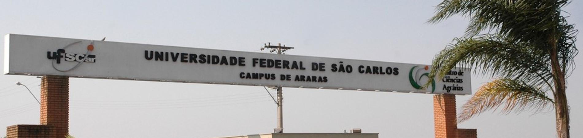 Pórtico de Entrada UFSCar Araras